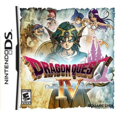 Dragon Quest V.  Wait, IV.  Whatd I say?